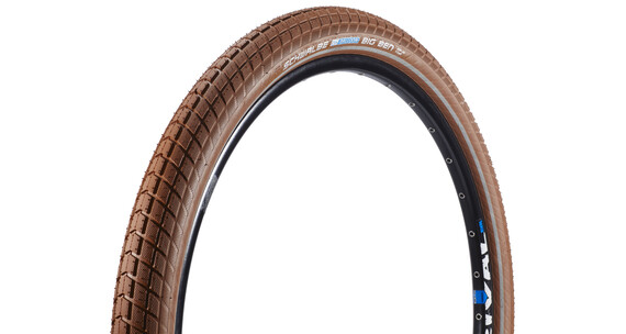 "SCHWALBE Big Ben Opona Active 26"" K-Guard Twin drut brązowy"